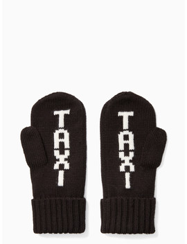 Taxi Mittens by Kate Spade