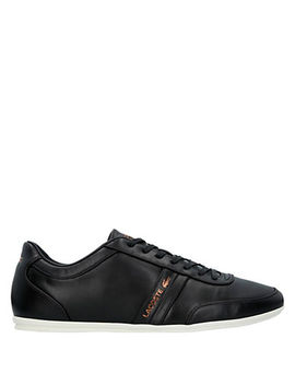 Stroda Leather Low Top Sneakers by Lacoste