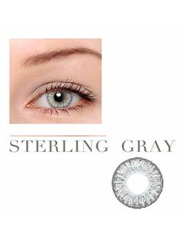 Women Multi Color Cute Charm And Attractive Fashion Contact Lenses Cosmetic Makeup Eye Shadow Pure Sterling Grey 3 By Dream Tm by Dream