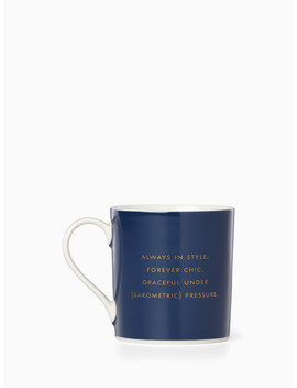 Trench Mug by Kate Spade