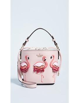 Flamingo Pippa Bucket Bag by Kate Spade New York