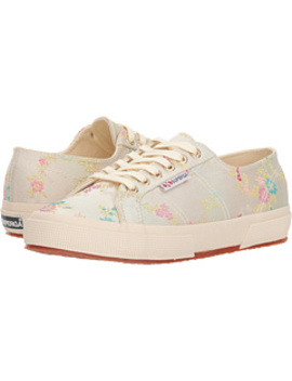 2750 Satinjacquardflowerw by Superga