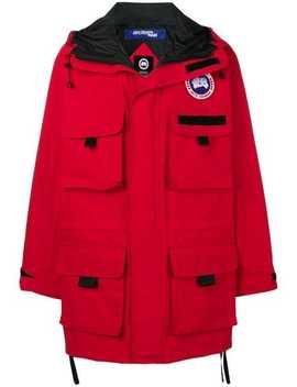 Junya Watanabehooded Parka Coathome Men Junya Watanabe Clothing Parkas & Duffle Coats by Junya Watanabe