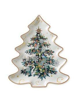 Twas The Night Figural Tree Platter by Williams   Sonoma