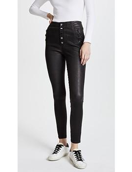 Natasha Leather Pants by J Brand