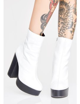 Loomy Platform Boots by Shellys London