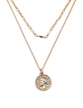 Coin Layered Necklace by Forever 21