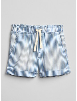 Stripe Pull On Shorts by Gap