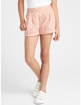 Print Linen Shorts by Gap