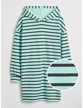 Stripe Hoodie Dress by Gap