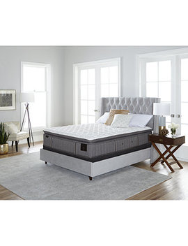 "Estate Palace 15.5"" Luxury Firm Euro Pillow Top Mattress Set  Queen by Stearns & Foster"