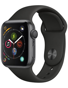 AppleWatch Series4 Gps, 40mm Space Gray Aluminum Case With Black Sport Band by Apple Watch Series 4