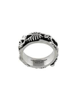 Alexander Mc Queenskeleton Ringhome Men Alexander Mc Queen Jewelry Rings by Alexander Mc Queen