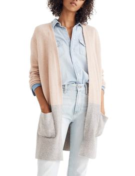 Kent Colorblock Cardigan Sweater by Madewell