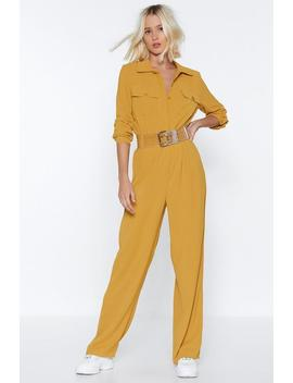 One Jump Ahead Relaxed Jumpsuit by Nasty Gal