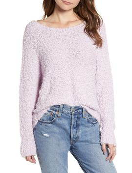 Eyelash Popcorn Sweater by All In Favor