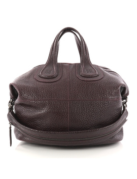 Pre Owned: Nightingale Satchel Glazed Leather Medium by Givenchy