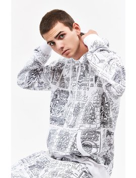 Converse X Suicidal Tendencies All Over Print Pullover Hoodie by Pacsun