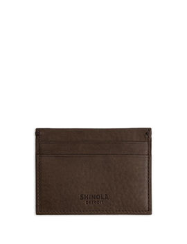 Men's Five Pocket Leather Card Case by Shinola