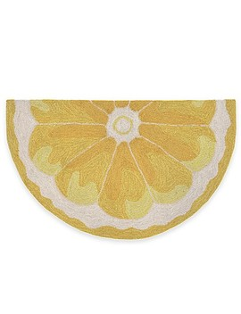 Trans Ocean Lemon Slice Accent Rug by Bed Bath And Beyond