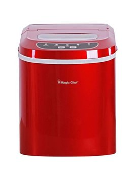 Magic Chef 27 Lb. Portable Countertop Ice Maker In Red by Magic Chef