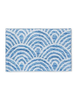 Scallop Tufted Bath Rugs And Mats Capri Blue   Opalhouse™ by Opalhouse™