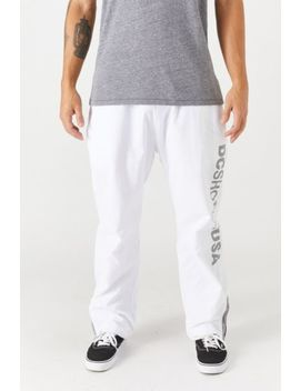 Dc Skate Track Pants by Dc Shoes