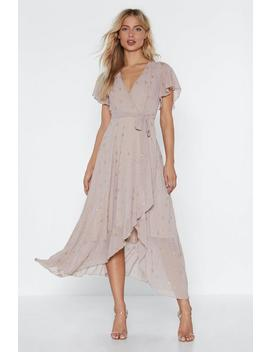 Get The Party Star Ted Wrap Dress by Nasty Gal