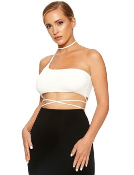 The Nw All Tied Up Crop by Naked Wardrobe