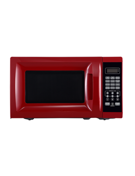 Mainstays™ 0.7 Cu Ft. 700 Watt Microwave, Red With 10 Power Levels by Mainstays