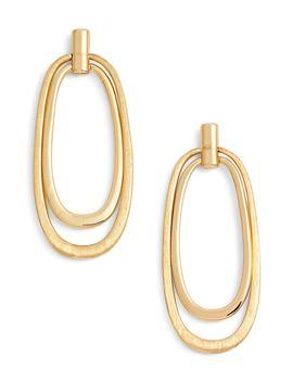 Oval Drop Earrings by Halogen®