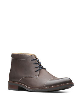 Maxton Mid Laced Leather Boots by Bostonian