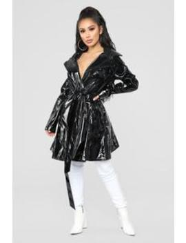 Spontaneous Thoughts Jacket   Black by Fashion Nova