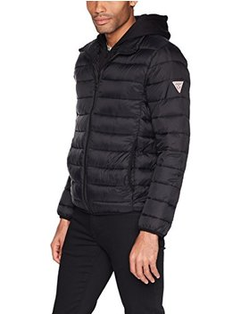 Guess Men's Hooded Puffer Jacket by Guess