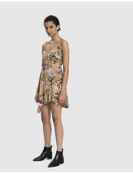 Leilani Floral Mini Dress by Farrow