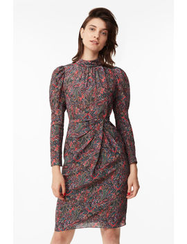 Hudson Paisley Silk Dress by Rebecca Taylor