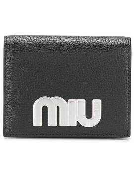 Miu Miulogo Wallethome Women Miu Miu Accessories Wallets & Purses by Miu Miu