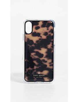 Tortoiseshell Hands Free I Phone X Case by Kate Spade New York