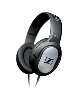 Hd 201   Circumaural Closed Back Dynamic Stereo Headphones by Sennheiser