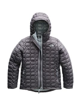 Thermo Ball Hooded Insulated Jacket   Boys' by The North Face