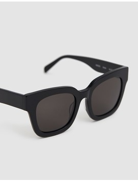 Saga Sunglasses In Black by Need