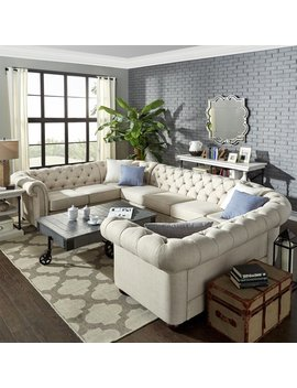 Three Posts Gowans Sectional & Reviews by Three Posts
