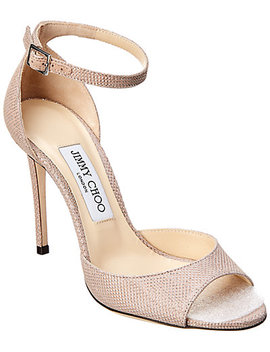 Jimmy Choo Annie 100 Leather Sandal by Jimmy Choo