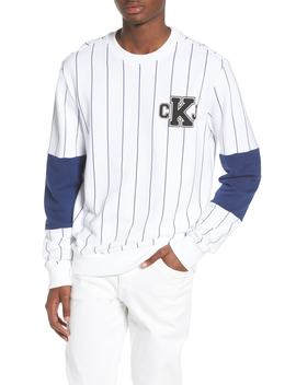 Stripe Blocked Sweatshirt by Calvin Klein Jeans