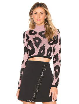 cropped-sweater by versus-by-versace