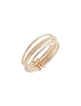 Attached Stacking Rings by Poppy Finch