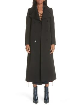 Gabardine Trench Coat by Stella Mccartney