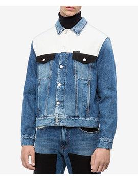 Men's Modern Classic Trucker Jacket by Calvin Klein Jeans
