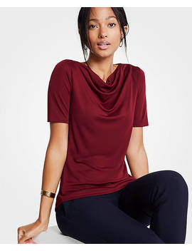 Cowl Neck Top by Ann Taylor