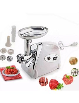 Zimtown Kitchen Meat Grinder, Stainless Steel Cutting Blade Electric Meat Mincer With Grinding Plates, Sausage Maker, Meat Chopper, Food Pusher Residential & Commercial Appliance by Zimtown
